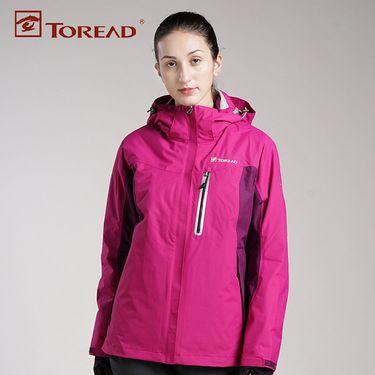 探路者 TOREAD女装套绒冲锋衣-KAWF92382