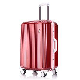 君华仕GENVAS 拉杆箱铝框箱万向轮旅行箱20英寸男女士登机箱轻盈坚固行李箱G-8002