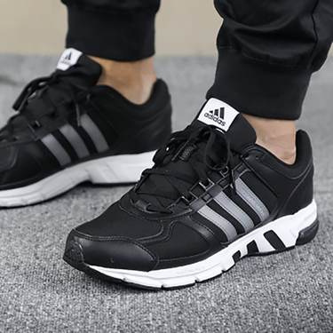 阿迪达斯 adidas男鞋新品EQUIPMENT 10 M跑步鞋减震轻便健身训练透气休闲运动鞋AC8595