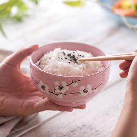 微浪 彩色陶瓷碗家用套装釉下彩碗筷米饭碗餐具