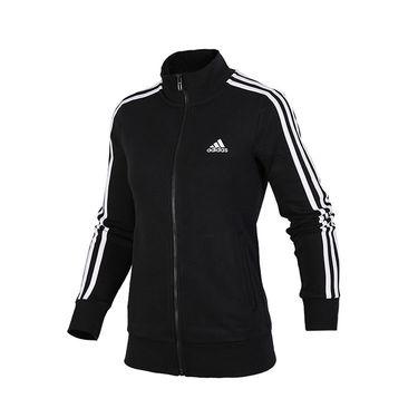 阿迪达斯 Adidas  女装2018秋季新款运动服立领休闲夹克外套S97427