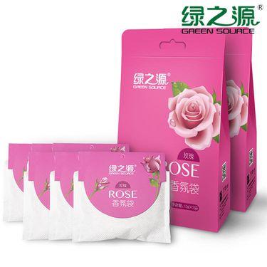 绿之源 香氛袋2包装 10g*6小袋 衣柜香薰芳香剂室内精油香袋除味香包
