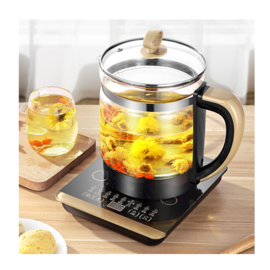 领锐 (lingrui)养生壶 玻璃多功能电煮壶 养生杯养身壶煮茶壶煮花茶电水壶烧水壶水壶