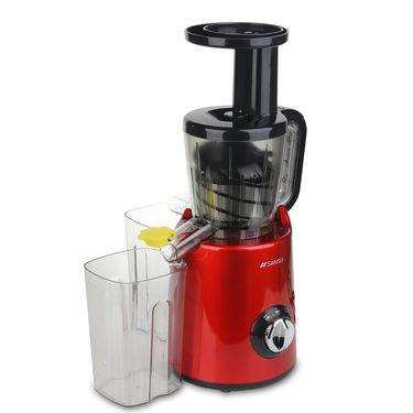 山水 (Sansui)家用水果多功能无渣原汁机 自动果汁渣分离小型炸果蔬无网原汁机SYJ-10C