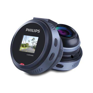 飞利浦 【正品特卖】行车记录仪1080P迷你140度广角镜头CVR108