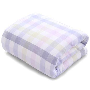 TUQIANG 图强 双层方格浴巾70*135cm(4色可选)