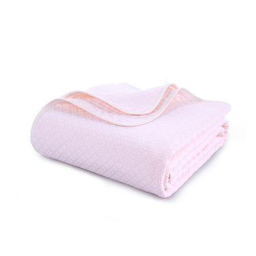 TUQIANG 图强 无捻多层菱形双人毛巾被 180*210cm(两色可选)
