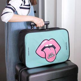 优芬 卡通手提旅行收纳包 登机包行李衣物拉杆箱整理包