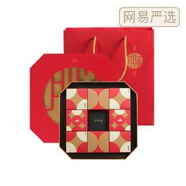 网易严选 仲秋拾月•月华浓月饼礼盒 60克*12枚