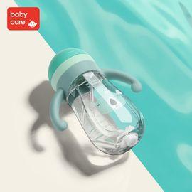 babycare 宝宝婴儿学饮杯防漏防呛6-18月防摔幼儿园儿童水杯吸管杯