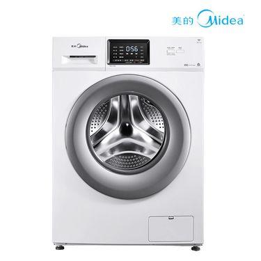 美的 【正品特卖】洗衣机8公斤智能变频智能时间控制MG80V330WDX