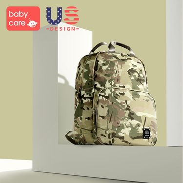 babycare 多功能妈咪包 2018新款时尚大容量妈妈外出双肩包母婴包