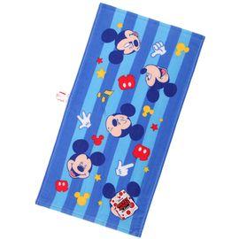 DISNEY 迪士尼Disney米奇卡通纱布童巾洗擦脸巾 纯棉宝宝婴儿童毛巾 纱巾