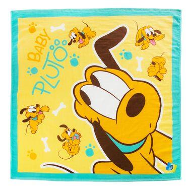 DISNEY 迪士尼灰姑娘正方形纱布浴巾 纯棉 宝宝婴儿童抱巾 卡通超柔吸水