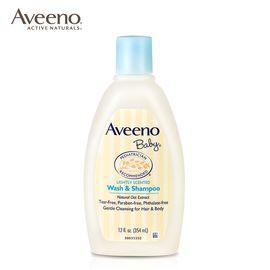 Aveeno 艾惟诺 美国(艾维诺)洗发沐浴二合一婴儿润肤宝宝儿童沐浴露