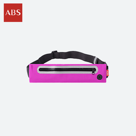 ABS 爱彼此 Tavel-kit便携式薄型弹性腰包(纤细型) 颜色随机