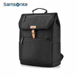 samsonite 新秀丽通勤双肩包电脑包上班旅游96Q*09012黑男女包
