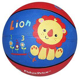 费雪 牌 卡通拍拍球 儿童小皮球篮球幼儿园玩具 橡胶充气球