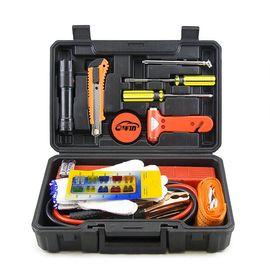 e车坊 汽车用品维修工具 汽车应急装备 车载汽车应急工具箱14件套YJ014