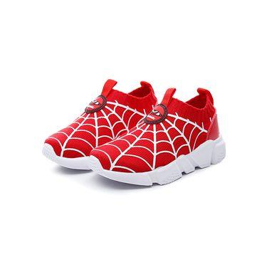 Teenmix/天美意 童鞋运动鞋2018秋季新款男童女童袜子鞋透气网布休闲鞋DX0383