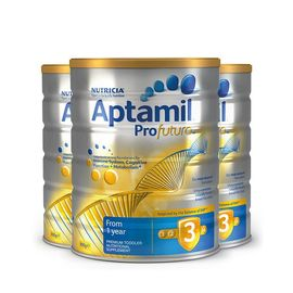 aptamil/爱他美 【6罐】新西兰爱他美3段(1-2岁)白金版婴幼儿牛奶粉900g 澳洲进口益生元配方 美易在线