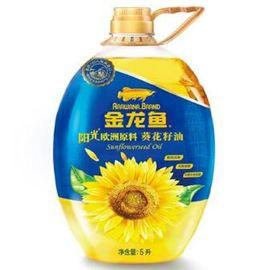 金龙鱼 葵花籽油(瓶装 5L) 营养升级 包装升级 抗紫外线