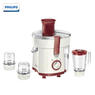 飞利浦 (PHILIPS)料理机 多功能多配件搅拌碾磨切碎料理鲜榨果蔬榨汁机 HR1848/00