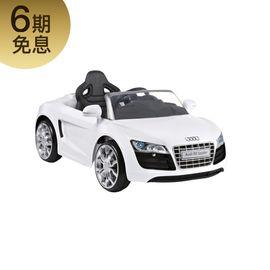 好孩子 儿童电动车奥迪R8玩具遥控四轮仿真汽车童车W458QG