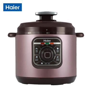 Haier/海尔 电压力锅 10种烹 可拆内盖 一键排压 HPC-YLJ4060/6060 机械款