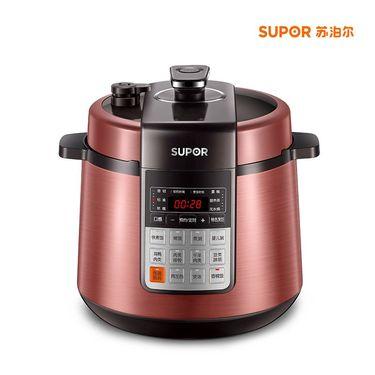 苏泊尔   SUPOR 智能电压力锅  SY-50YC501Q 5升 球釜陶晶内胆 24小时预约