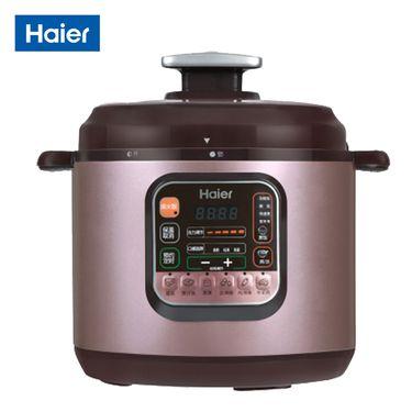 Haier/海尔 电压力锅 12小时预约 一锅双胆 可拆洗上盖HPC-YLS5061/6061