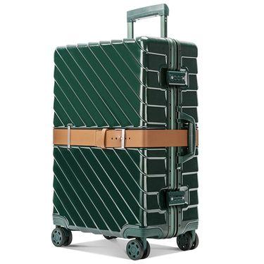 ZD/袋黛安 铝框耐磨抗压行李箱万向轮男女通用拉杆箱密码箱旅行箱