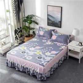 艾桐 公主床裙 纯棉床罩