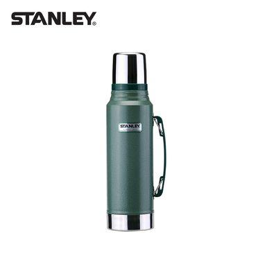 STANLEY 保温壶大容量保温杯不锈钢户外旅行家用保暖瓶车载水壶10-01254