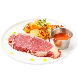 酣畅 原切系列 澳洲进口原肉整切西冷牛排团购10片 家庭新鲜腌制牛扒套餐 聚会佳肴