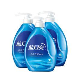 蓝月亮 【单件包邮】手洗专用洗衣液 风清白兰 500g/瓶*3