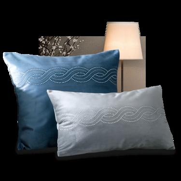 康尔馨 Careseen+轻奢系列 奥古斯塔抱枕靠枕欧式宫廷风床品配饰镶钻靠垫 法国设计师打造 欧式烫钻 丝绸质感