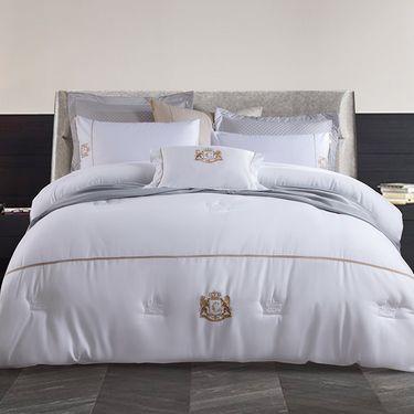 康尔馨 五星级酒店被子夏被春秋被冬被加厚保暖全棉被芯单人双人亲肤纯棉被子