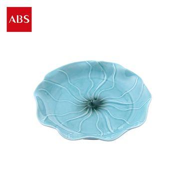 ABS 爱彼此 Vernal清风荷影系列陶瓷餐盘