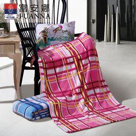富安娜 法兰绒毯情侣午休毯(两条装)80*120cm