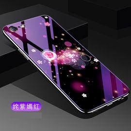 麦阿蜜 苹果7/8手机壳 iPhone7/6S保护套 全包电镀软边防摔蓝光玻璃壳 苹果8/7/6手机壳