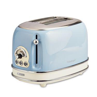 Ariete 阿里亚特 意大利烤面包机155 多士炉快速早餐机吐司机家用烤面包机不锈钢机身