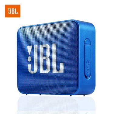 JBL GO2 音乐金砖2 蓝牙低音炮音箱 便携迷你音响 蓝色