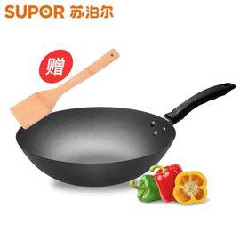 苏泊尔 32cm精铸铁锅健康补铁 电磁炉可用(送竹铲)