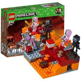 乐高 (LEGO)积木 我的世界Minecraft冥界之争6-14岁 21139 儿童玩具