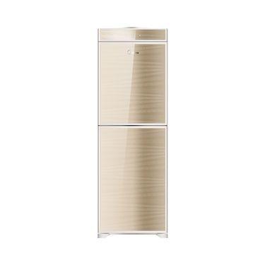 美的 饮水机 钢化玻璃双开门 节能省电 香槟金MYD920S-W (冰热型)