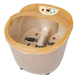 泰昌 TC-2077全自动便携加热养生足浴盆足浴器 按摩泡脚盆足底按摩器 桔色