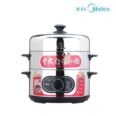 美的 【正品特卖】多功能三层电蒸锅不锈钢SYH28-21