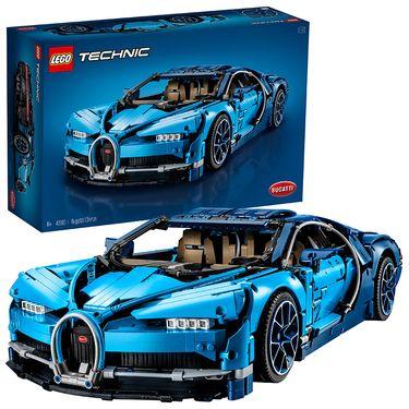 乐高 玩具 机械组 Technic 16岁+  Bugatti Chiron 42083 积木LEGO