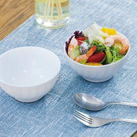 乐美雅 (Luminarc)特瑞欧白色钢化无铅玻璃饭碗12cm 4只装